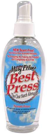 Best Press ~ Unscented ~ 6 oz fine spray pump