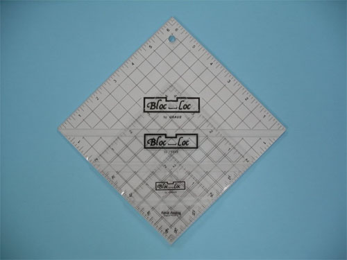 Bloc-Loc Triple Pack Half Square Triangle Trimming Rulers