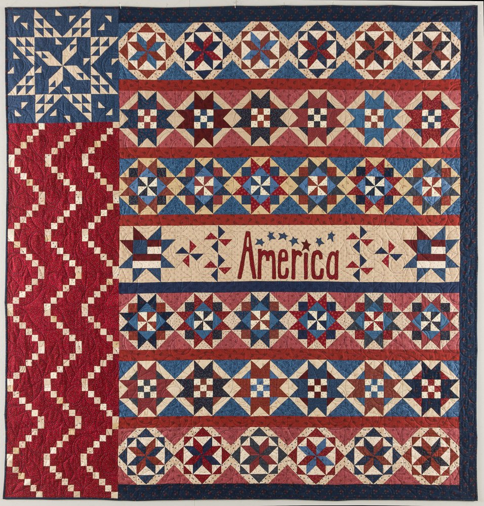 Star Spangled Liberty ~ Complete BOM pattern set