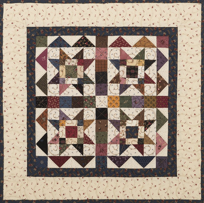 Circa 1880 Club ~ Complete Set of 6 Small Quilt Club Patterns