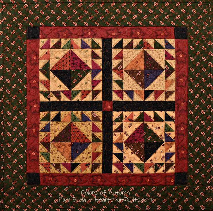 Tokens: Autumn Sampler Quilt Trio ~ Complete Kit