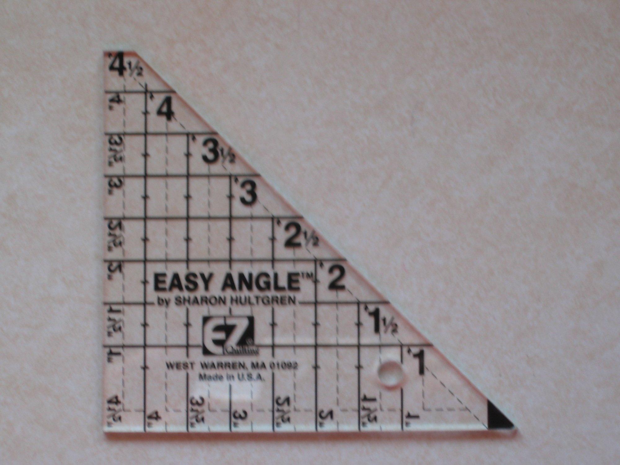 EZ Angle Ruler ~ 4 1/2 inch