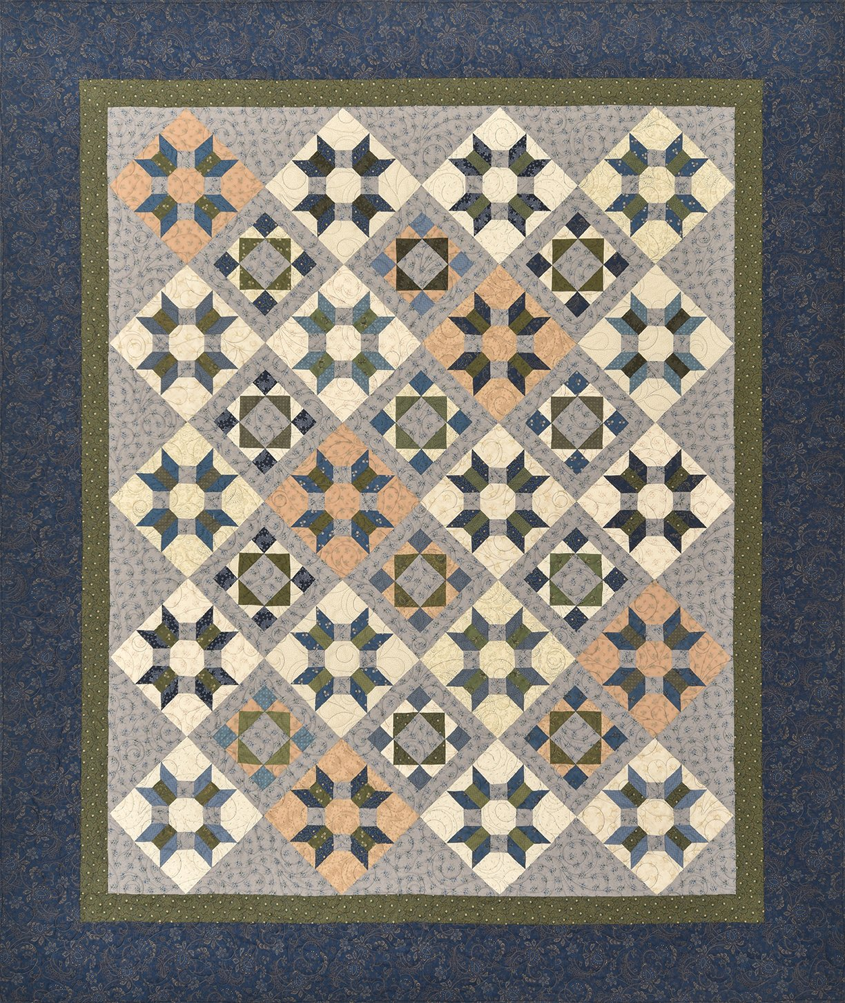 Country Roads Quilt Pattern