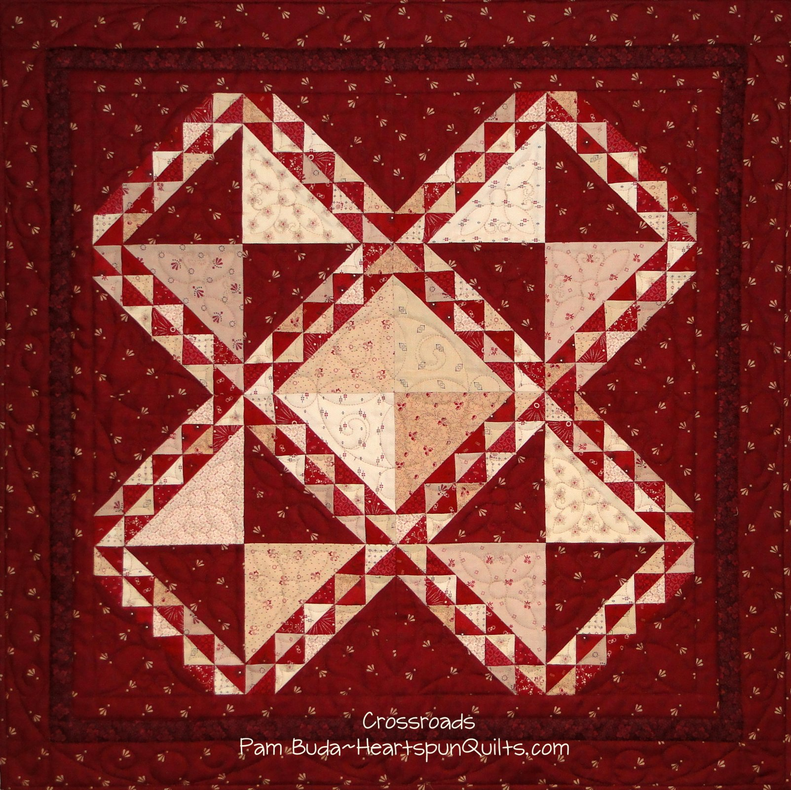 Crossroads ~ Limited Edition Quilt Kit & Pattern
