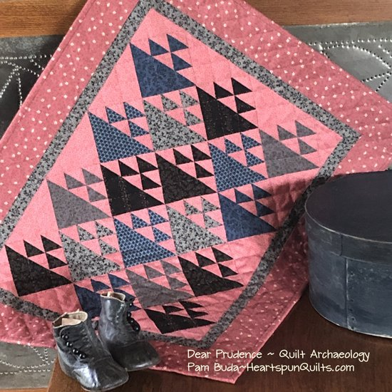 Dear Prudence ~ Quilt Archaeology Pattern Download