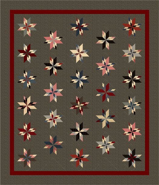 Hands To Work Quilt Kit & Pattern ~ PREORDER