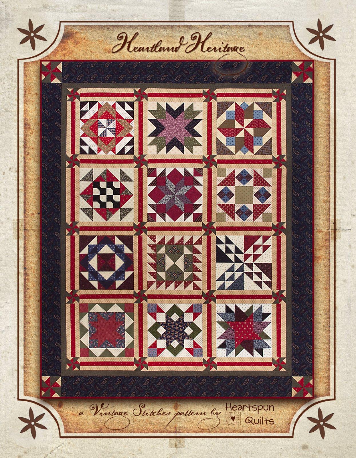 Heartland Heritage Sampler ~ Pattern Download
