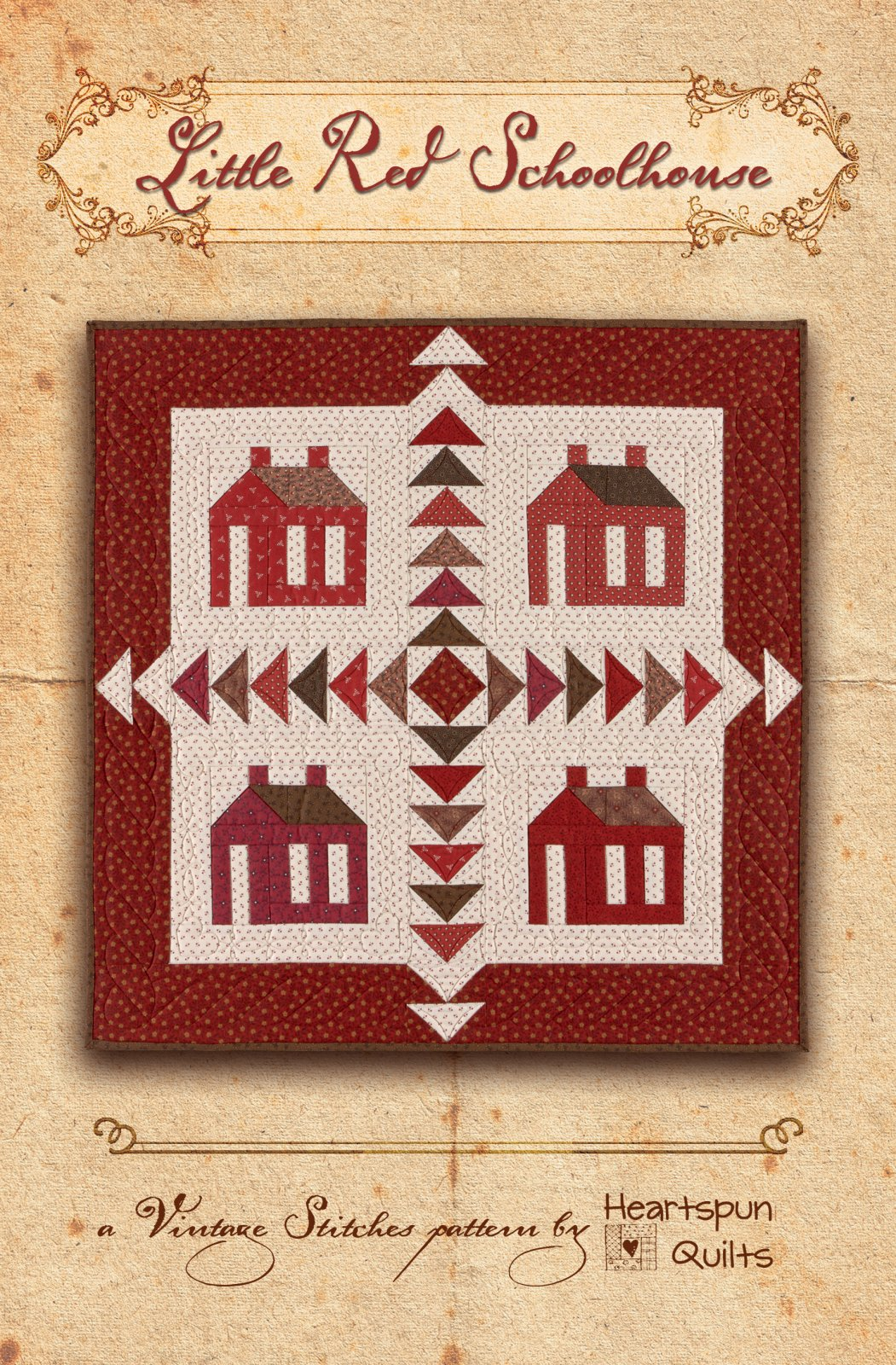 Little Red Schoolhouse Pattern Download