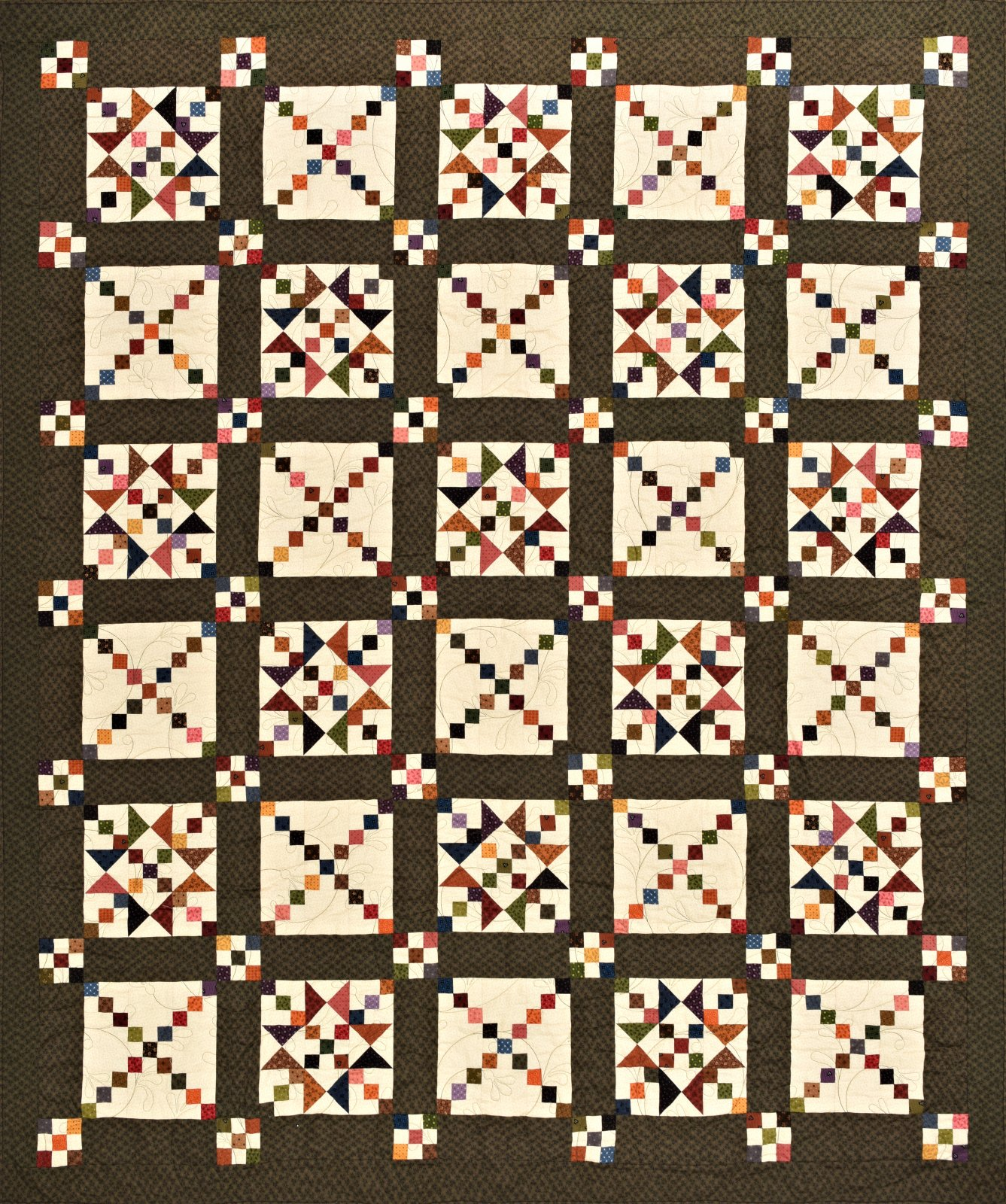 Mercantile Nine Patch Pattern