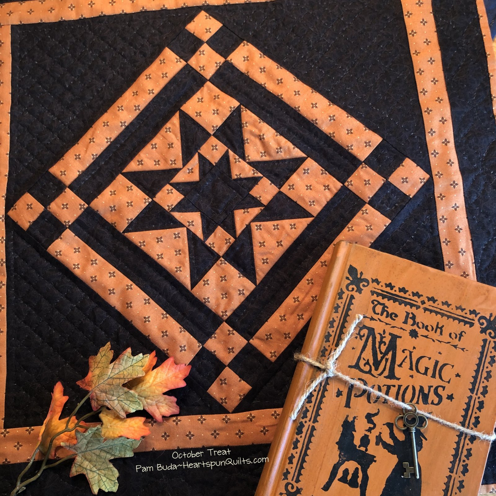 October Treat Quilt Pattern