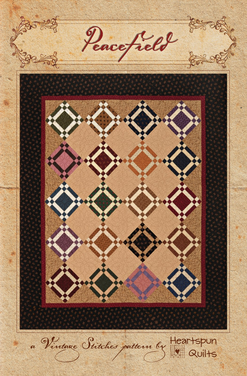 Peacefield Quilt Kit