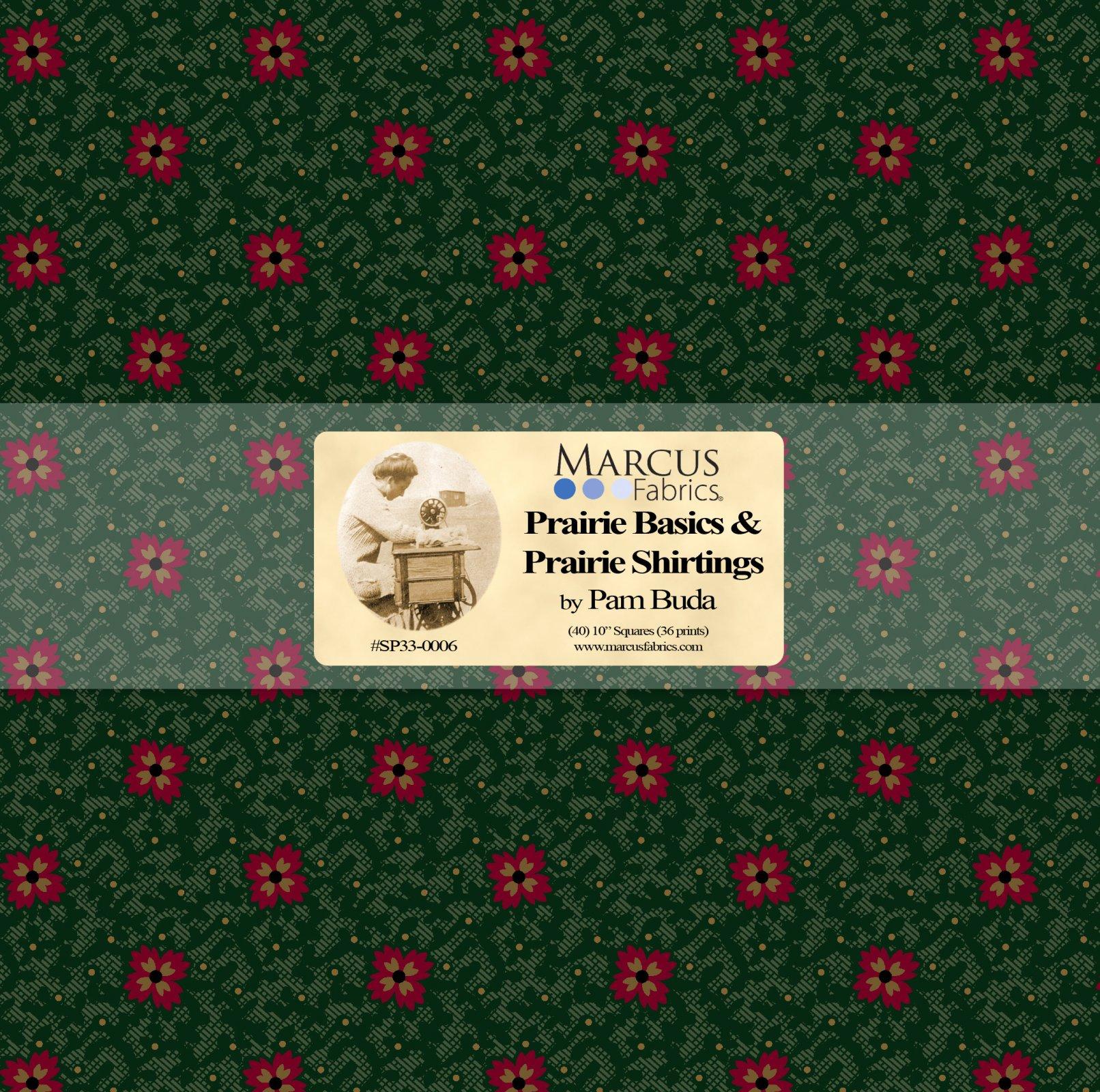 Pam's Prairie Basics & Shirtings 10 x 10 Precut  Bundle
