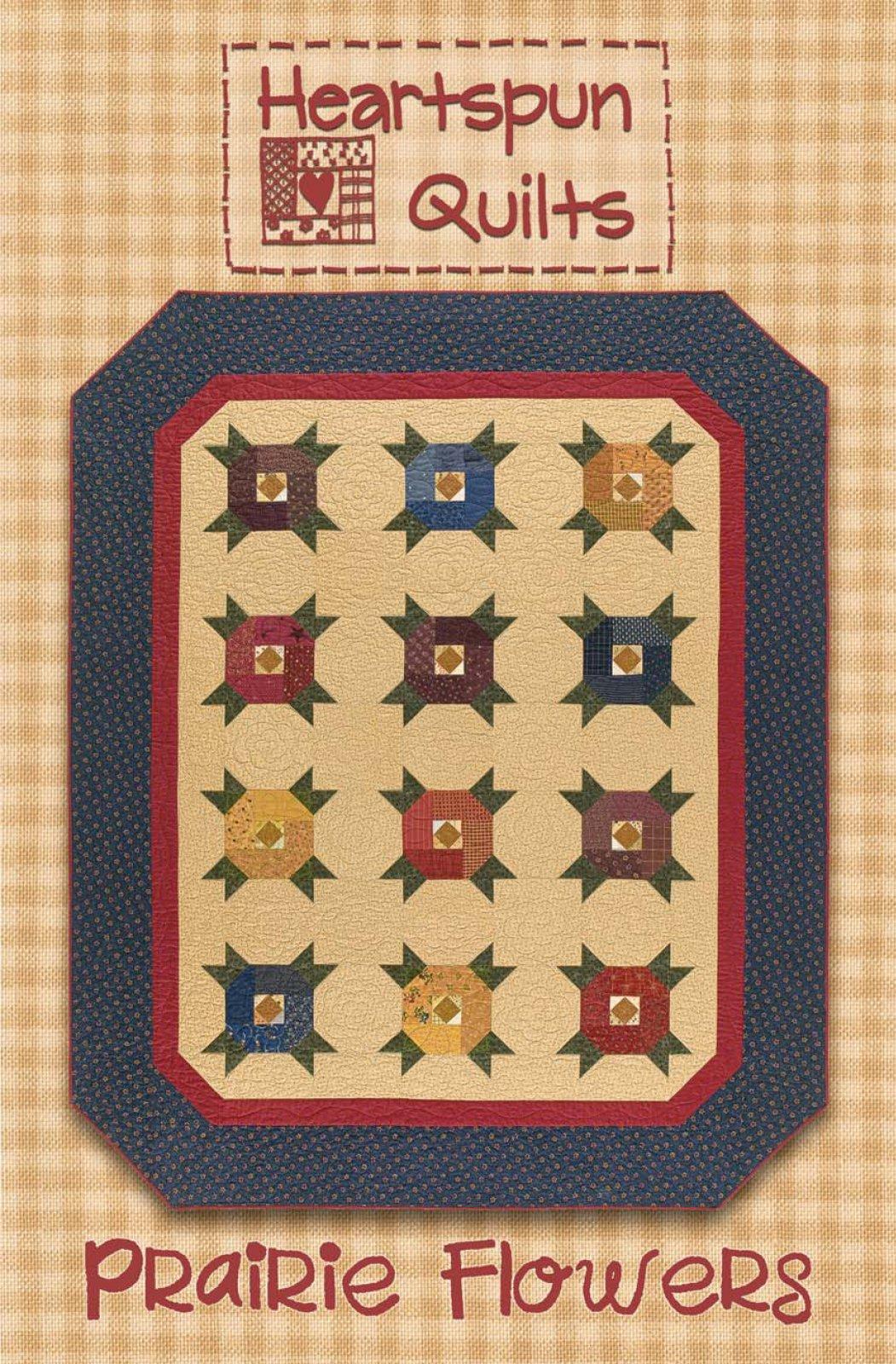 Prairie Flowers Quilt ~ Pattern Download