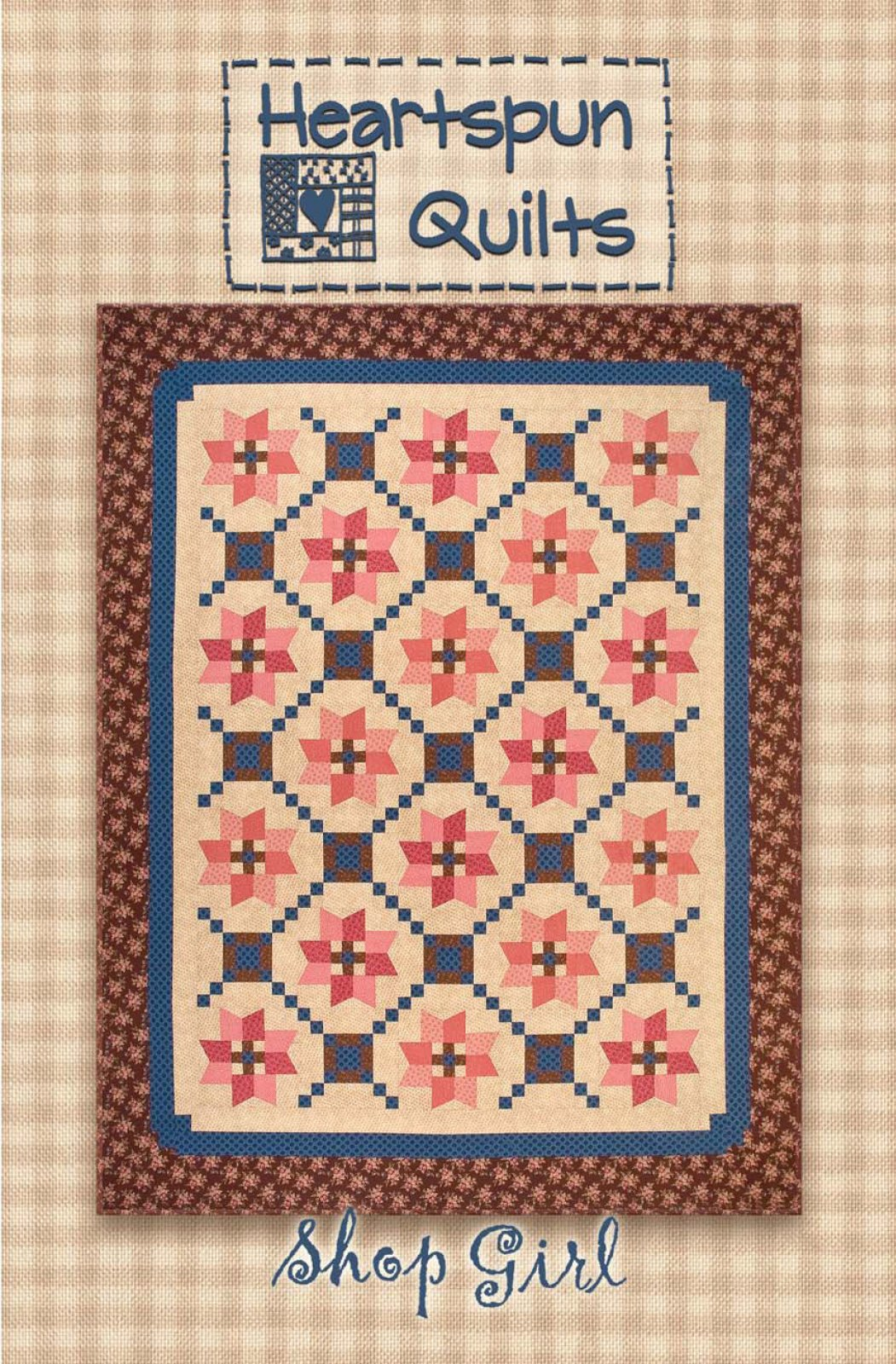 Shop Girl Quilt ~ Pattern Download