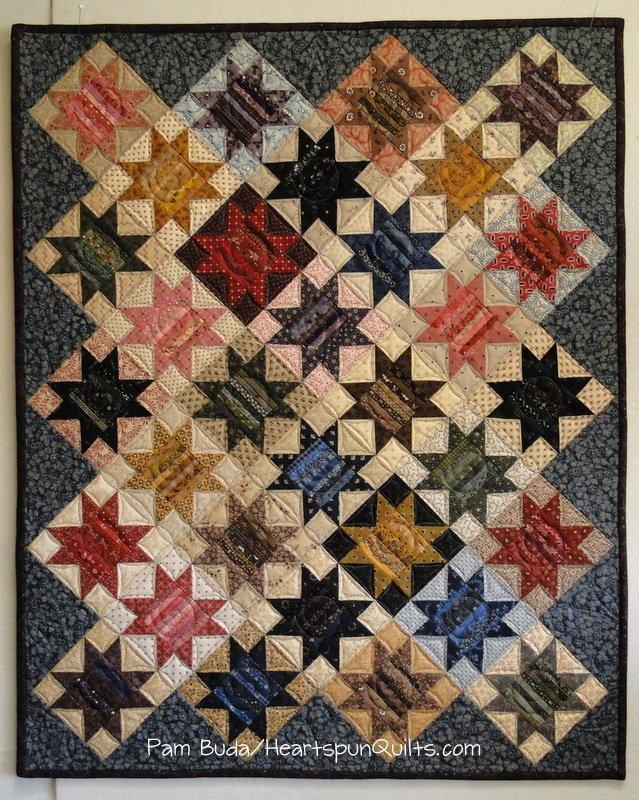 Star Strings Quilt & Pincushion Pattern