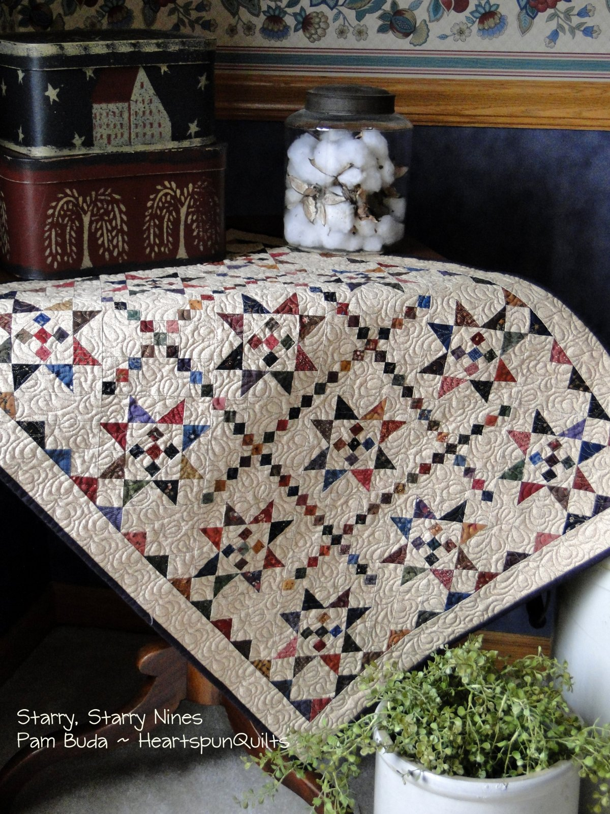 Starry, Starry Nines Quilt Kit