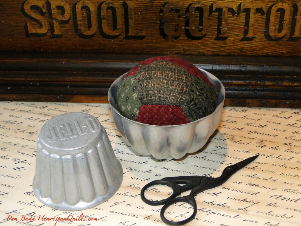 Tin Pinkeep Pincushion Pattern