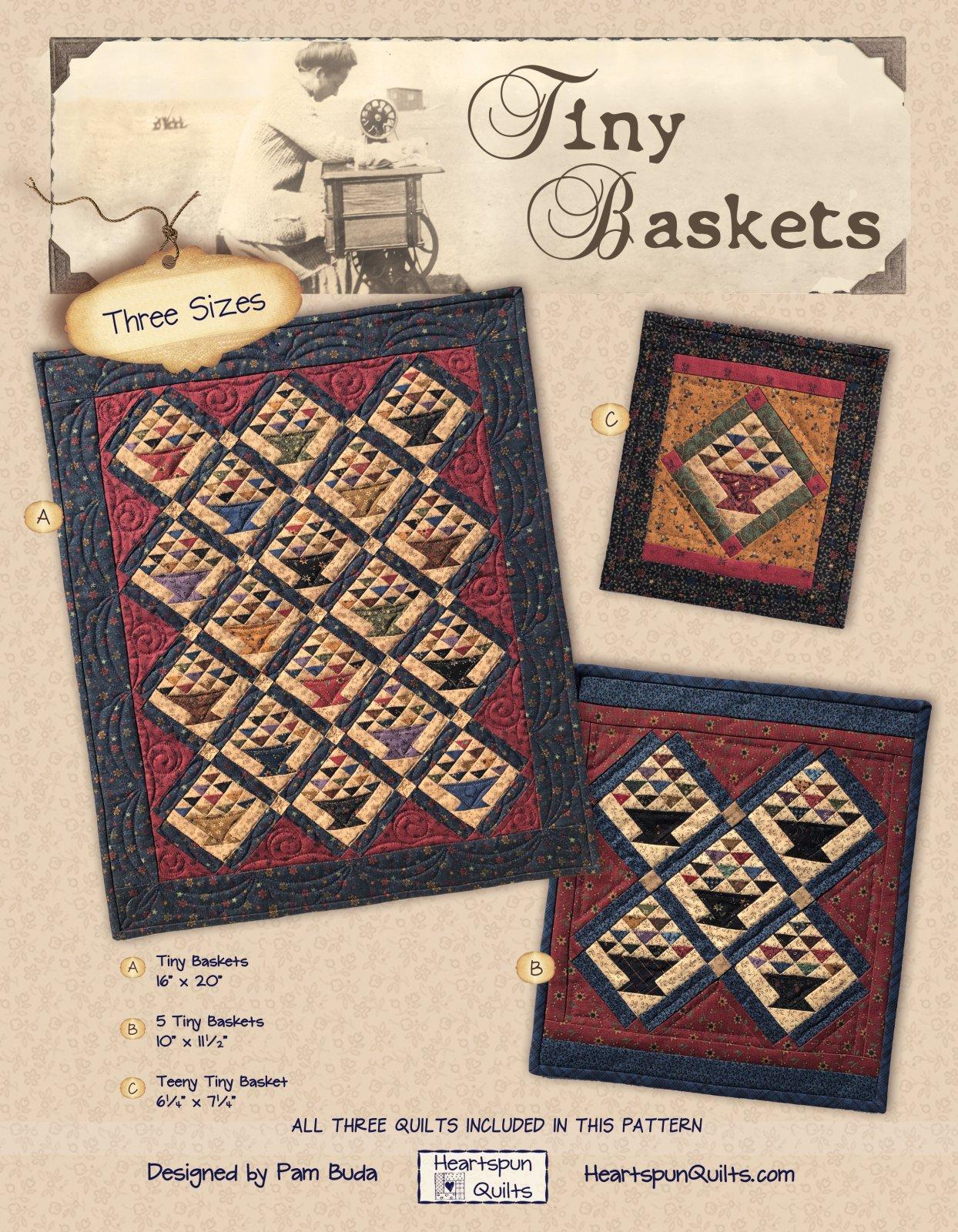 Tiny Baskets Pattern