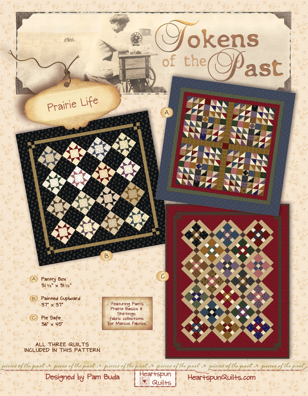 Tokens of the Past: Prairie Life Pattern