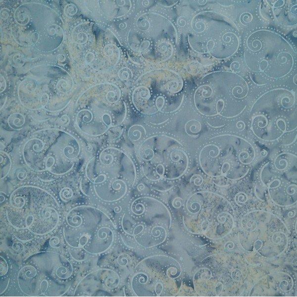 Dream Droplets Spinning Grey Batik