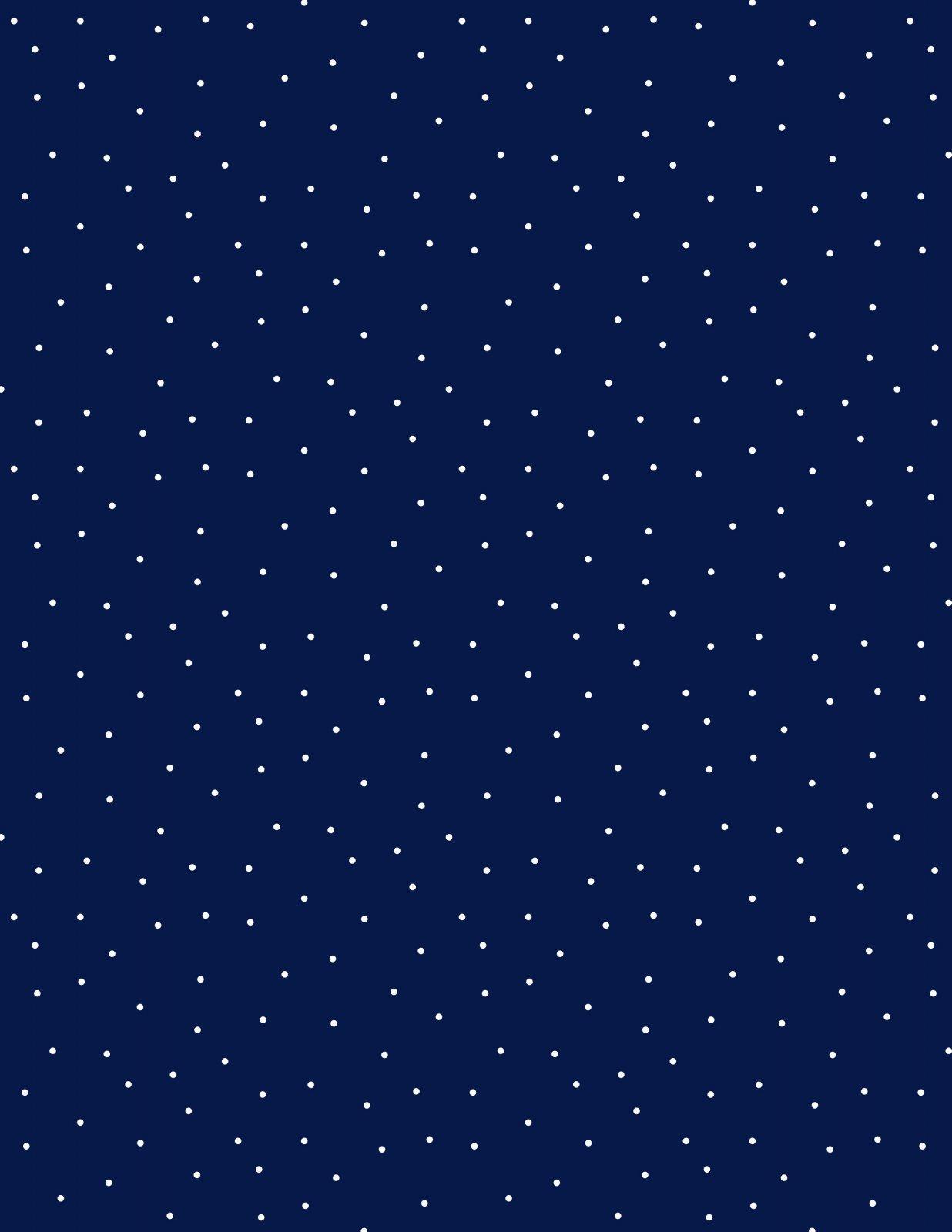 Pindots Blue/white