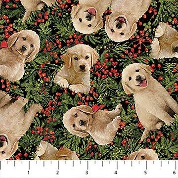 Santa helpers dogs