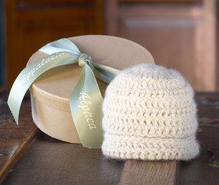 Crochet Alpaca Baby Cap Kit