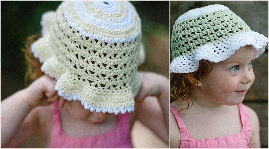 Baby Sun Hat Pattern