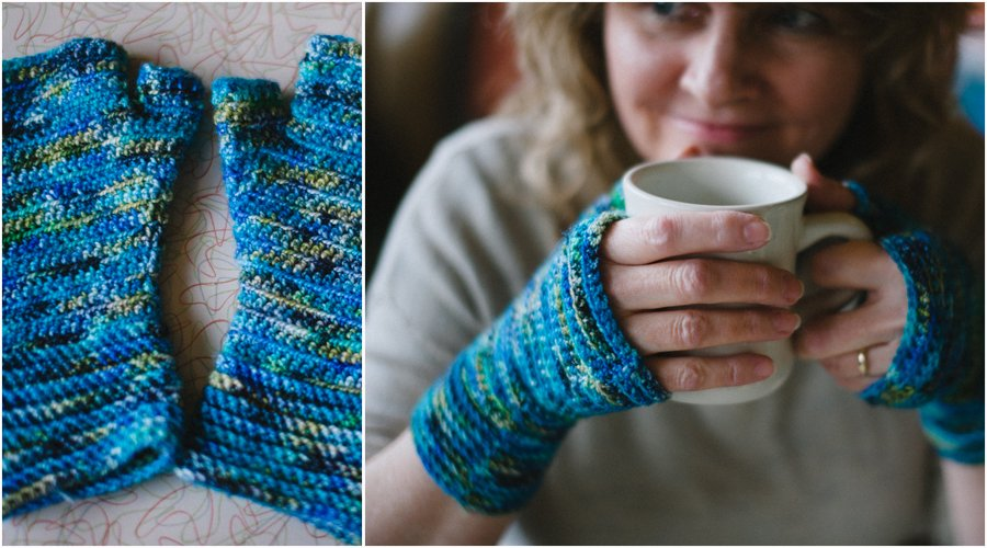 Crochet Hand Wrap Pattern