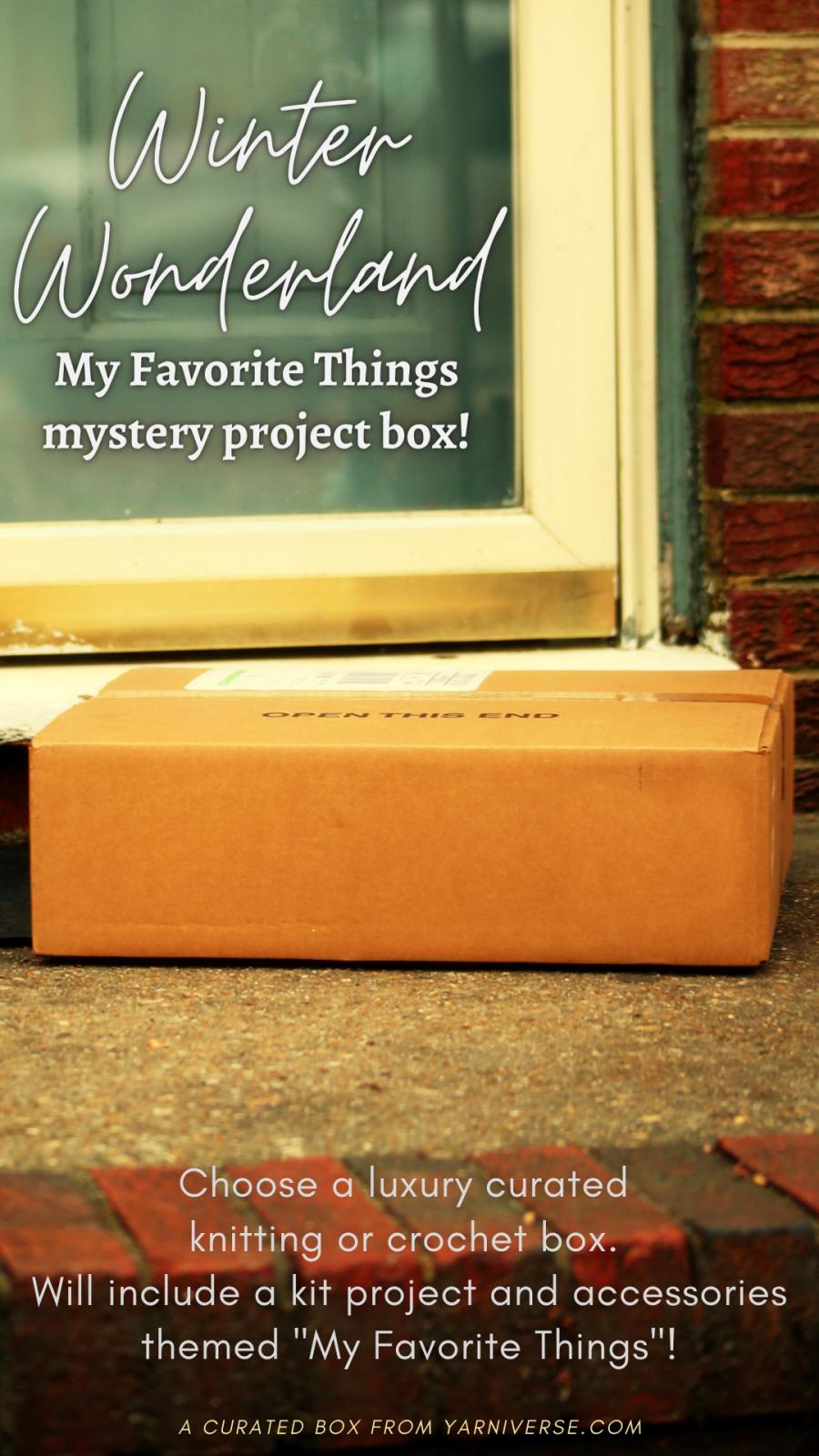 Winter Wonderland Mystery Project Box
