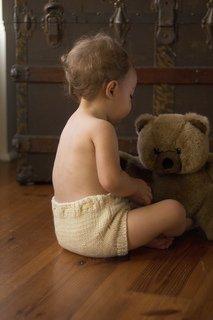 Knit Wool Baby Soaker Kit