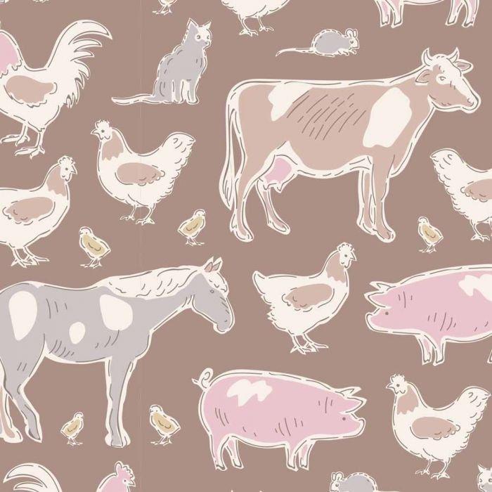 Farm Animals Brown - Tiny Farm