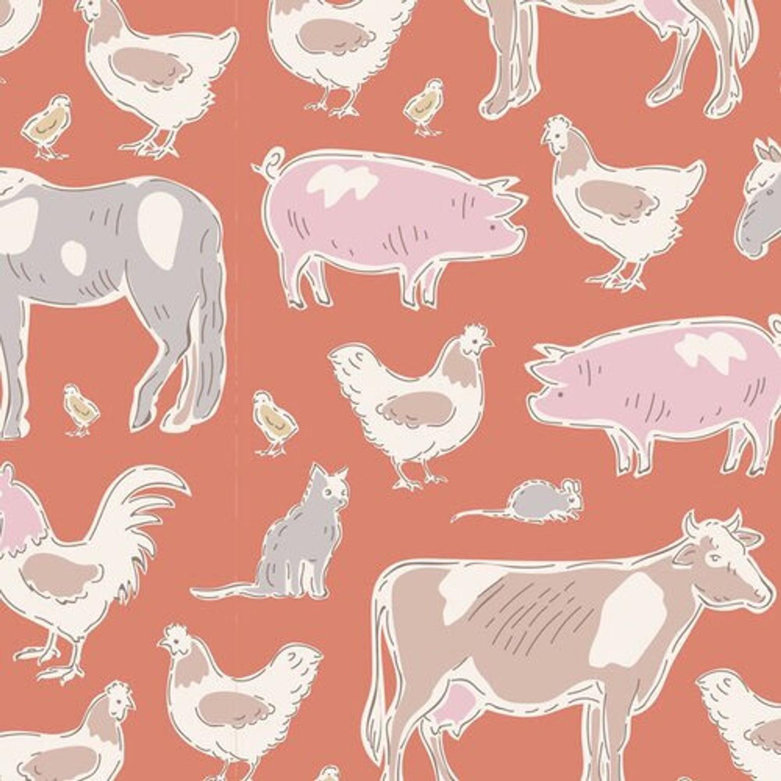 Farm Animals Ginger - Tiny Farm