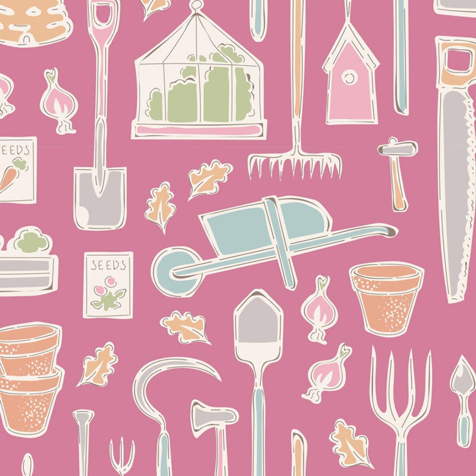 Farm Tools Pink - Tiny Farm
