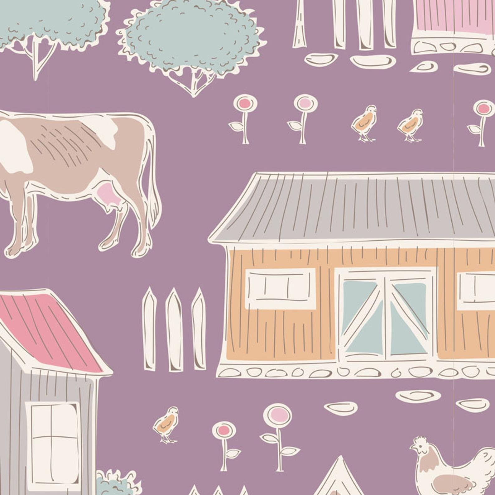 Tiny Farm Mauve - Tiny Farm