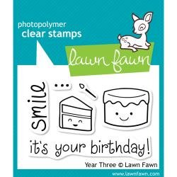 Lawn Fawn Clear Stamps Year Three