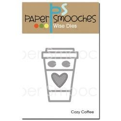Paper Smooches Dies Cozy Coffee