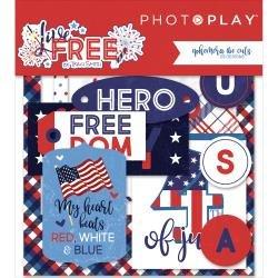Live Free Ephemera Cardstock Die-Cuts