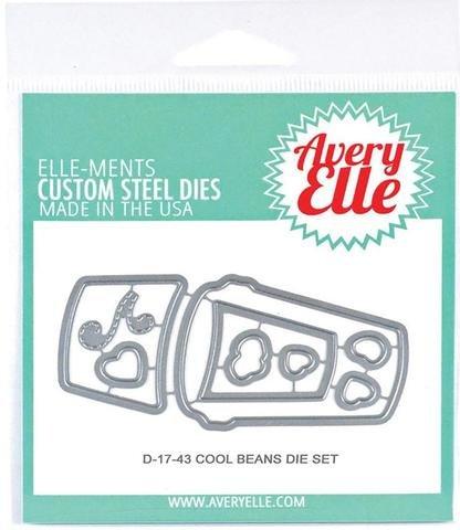 Avery Elle Die 4X3-Cool Beans
