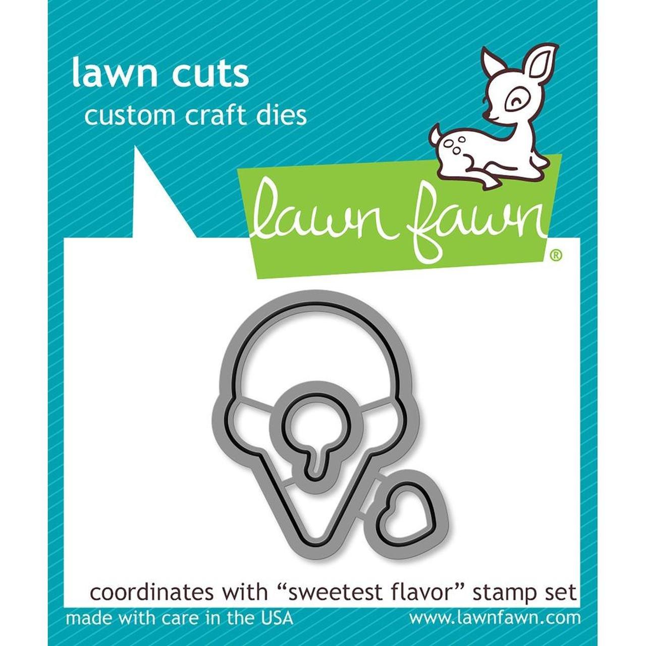 Lawn Cuts Custom Craft Die-Sweetest Flavor
