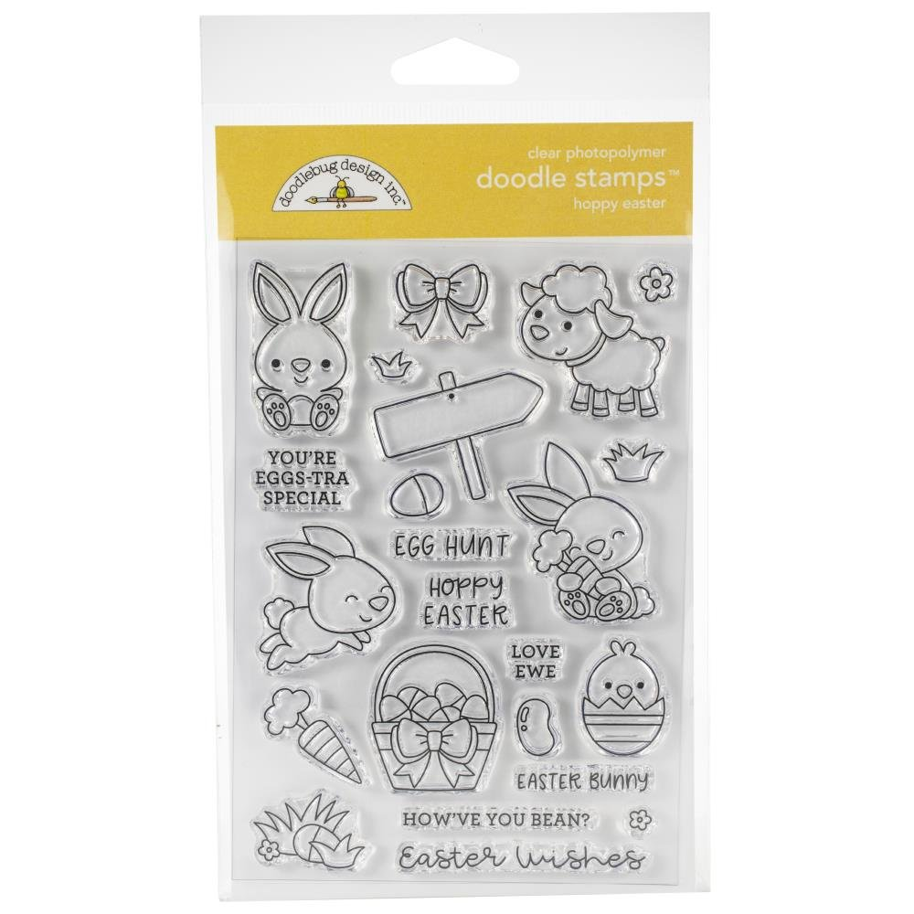 Doodlebug Designs Hoppy Easter Stamp
