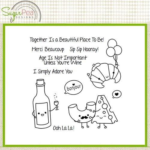 SugarPea Designs Stamp Ooh La-La