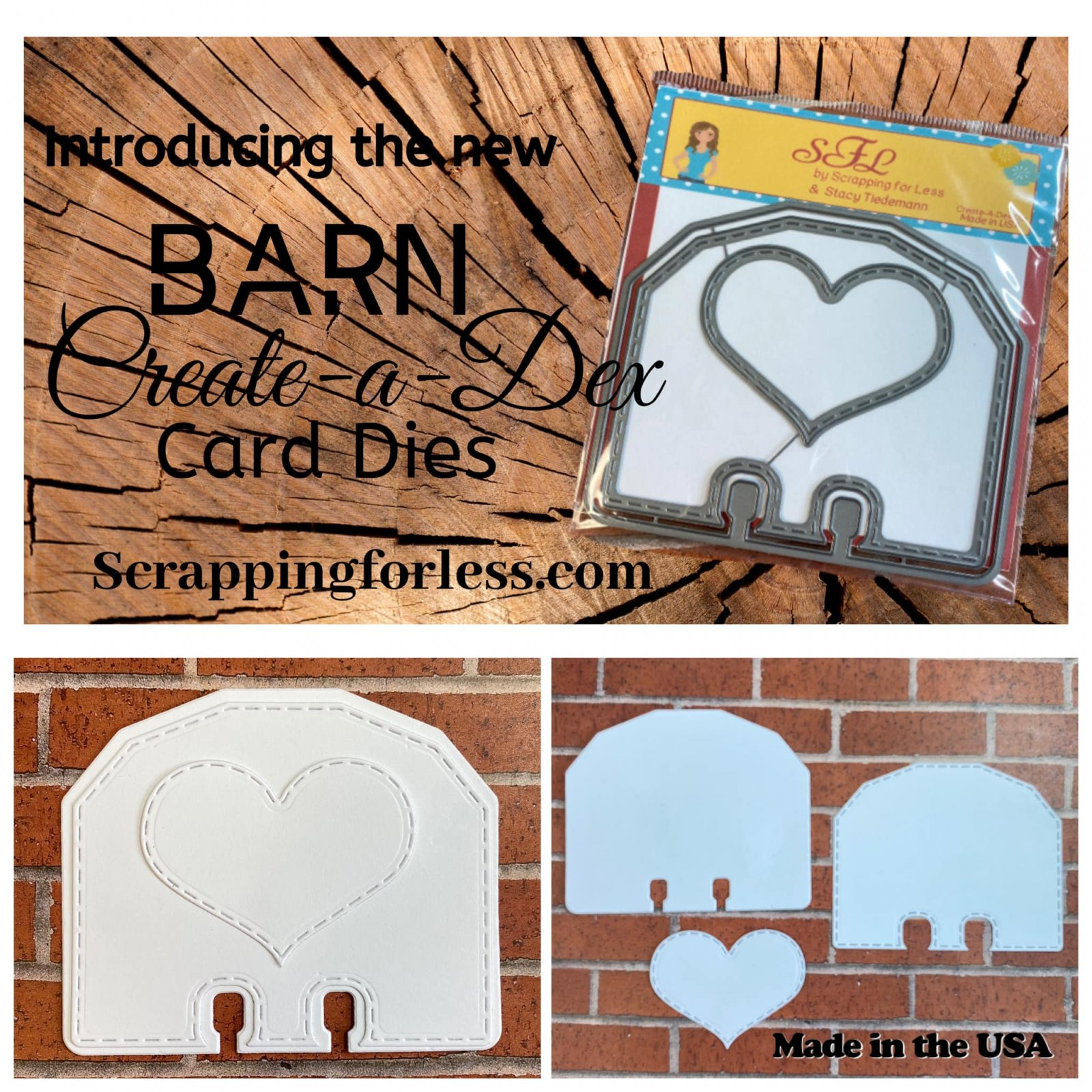 Scrapping for Less Create-a-Dex Die Barn