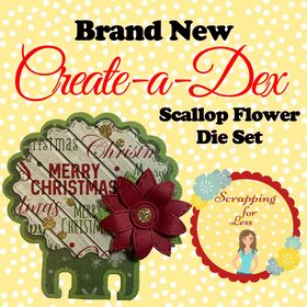 Scrapping for Less Create-a-Dex Die Scallop