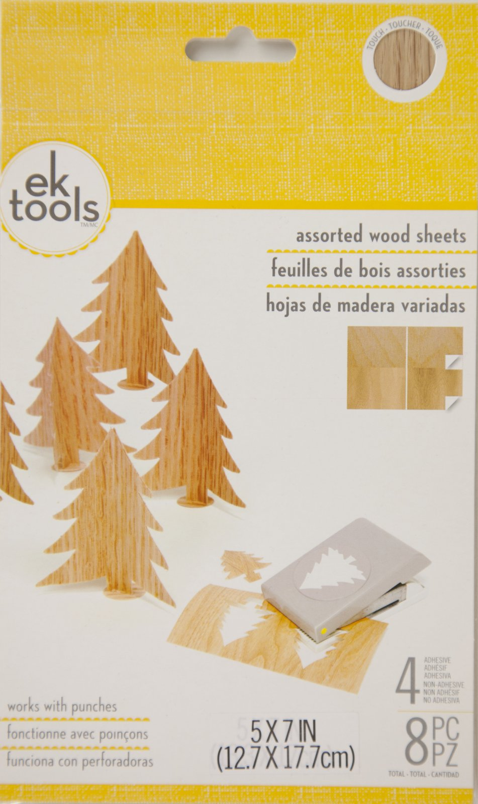 EK Tools Wood Sheets