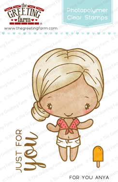 The Greeting Farm Clear Stamps For You Anya