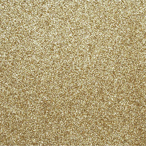 Sticky Back Glitter Sheet - Gold - 8.5 X 11 Inches