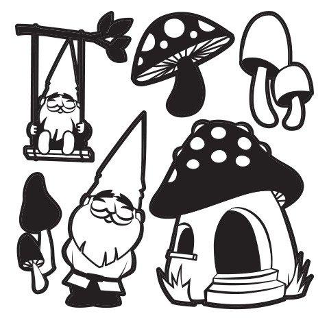 Fairy Garden Craft Die