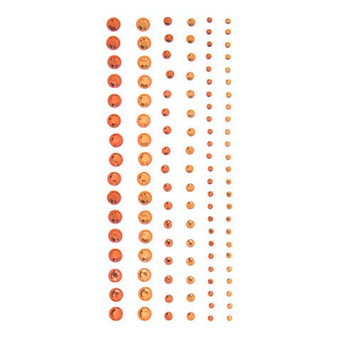 Darice Orange Rhinestones