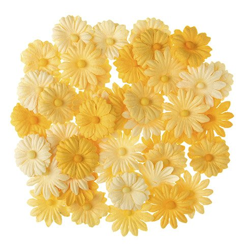 Darice Yellow Button Daisies